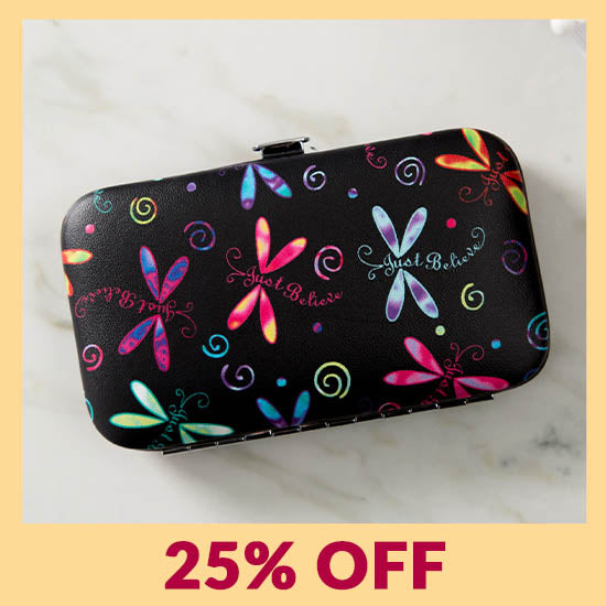 Just Believe Dragonfly Manicure Set - 25% OFF
