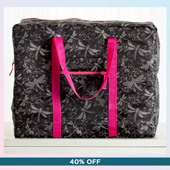 Dragonfly Delight Packable Duffel Bag - 40% OFF
