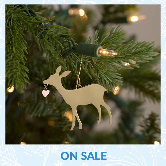 Wildlife Mixed Metal Ornament - On Sale