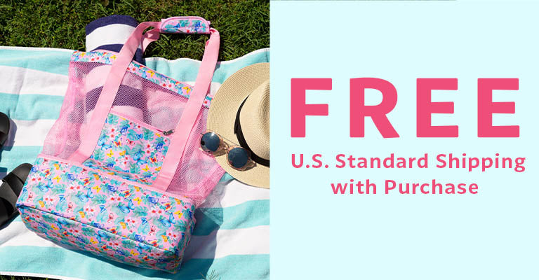 Floral Delight Butterfly Cooler Bag | FREE U.S. Standard Shipping with Purchase