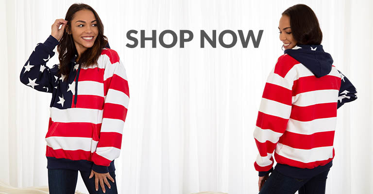 American Flag Sweatshirt | Shop Now!