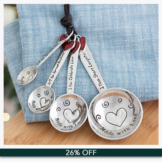 Made with Love Measuring Spoons - 26% OFF