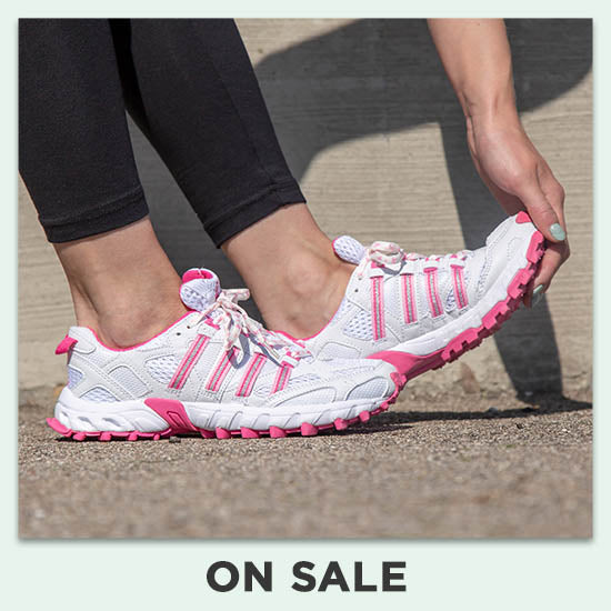 Pink Ribbon Cross-Training Shoes for Women - On Sale