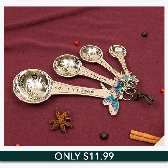 Believe Dragonfly Measuring Spoons - Only $11.99