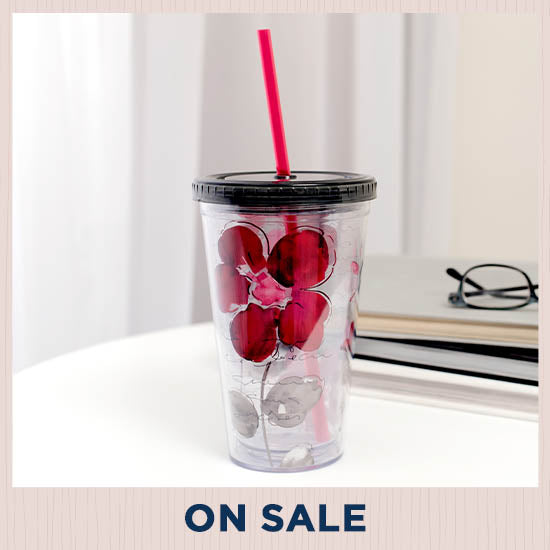 Floral Symphony Travel Cup - On Sale