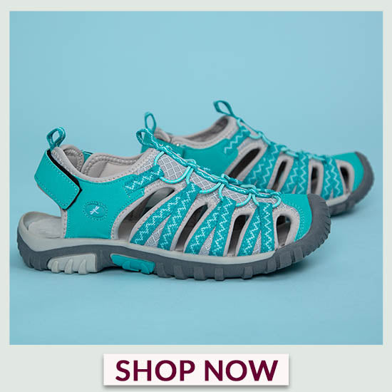 Fluttering Friends Sport Sandals - Shop Now!