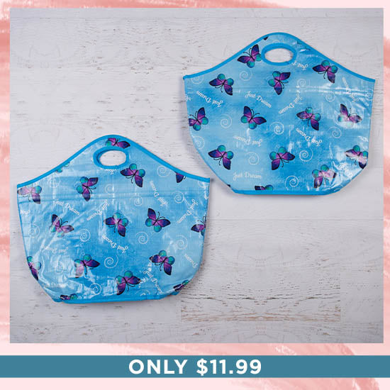 Just Dream Insulated Shopping Tote - Set of 2 - Only $11.99
