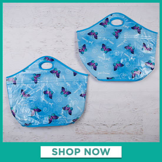 Just Dream Insulated Shopping Tote - Set of 2 - Shop Now