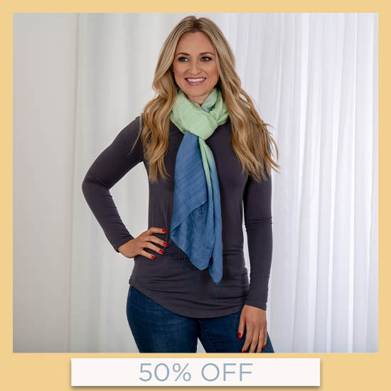 Color Connection Scarf - 50% OFF