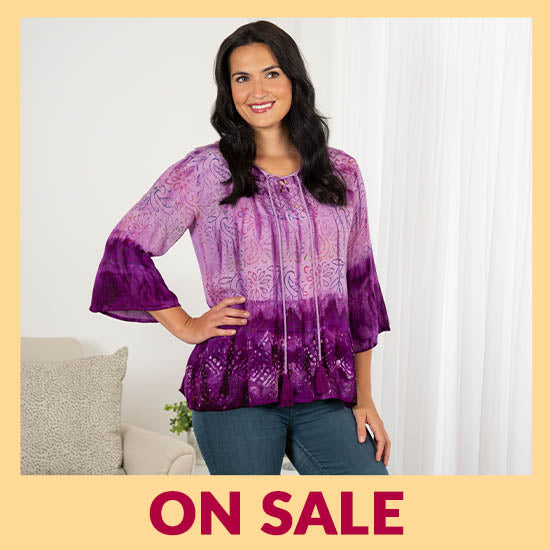 Kanapali Mist Flowy Top - On Sale