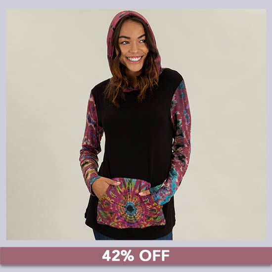 Far Out Hooded Tunic - 42% OFF