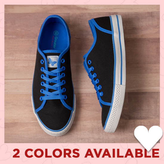 Fluttering Friends Sneakers - 2 Colors Available