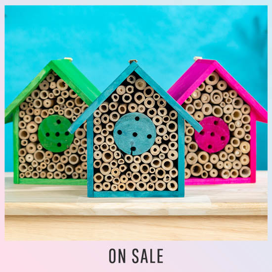 Wooden Bee House - On Sale
