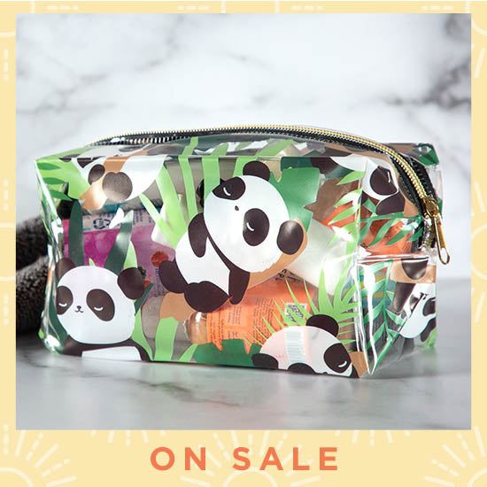 Pandarama Clear Toiletry Bag - On Sale