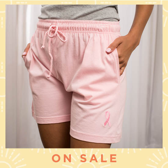 Pink Ribbon Women's Casual Shorts - On Sale
