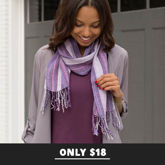 Hand-loomed Alpaca Wool Scarf - Only $18