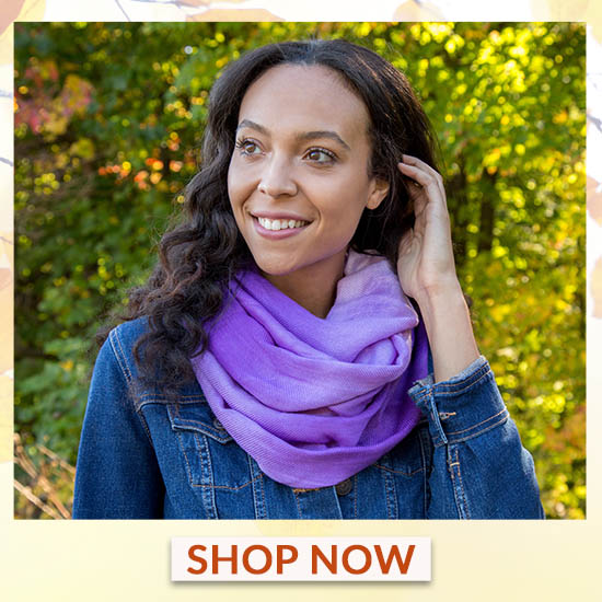Ombre Infinity Scarf - Shop Now