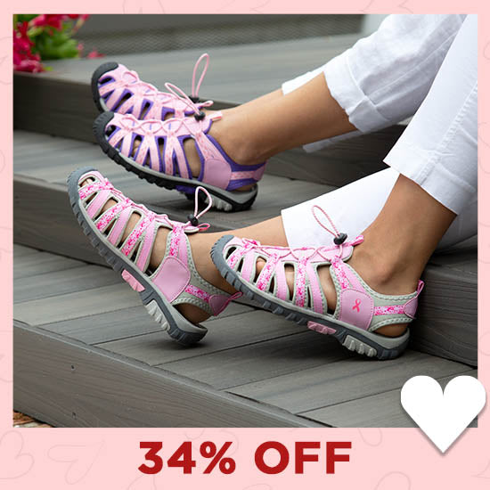 Path to Pink™ Women's Sport Sandals - 34% OFF