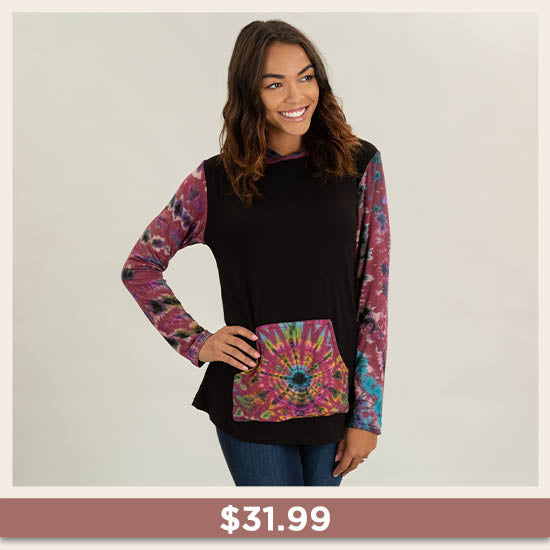 Far Out Hooded Tunic - $31.99