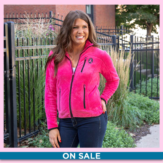 Super Cozy™ Pink Ribbon Pink Everest Cozy Jacket - On Sale