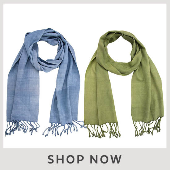 All Natural Guatemalan Scarf - Shop Now