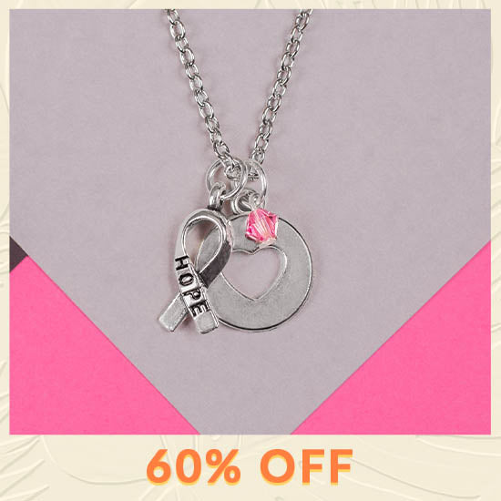 Hope & Love Necklace - 60% OFF