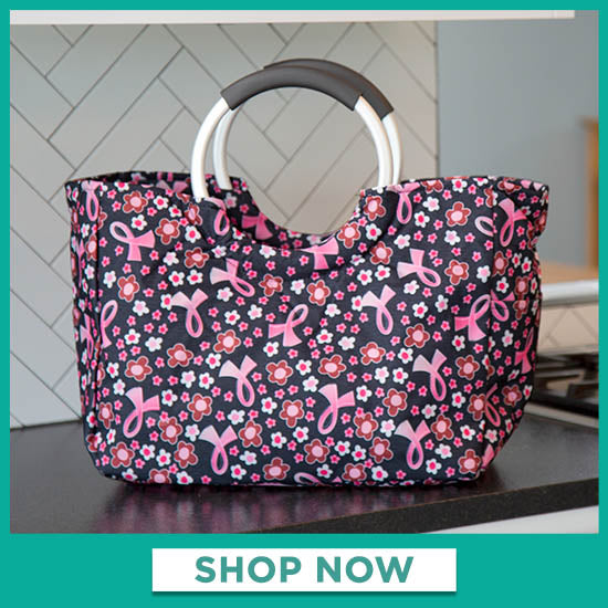 Pink Ribbon Insulated Shopping Bag - Shop Now