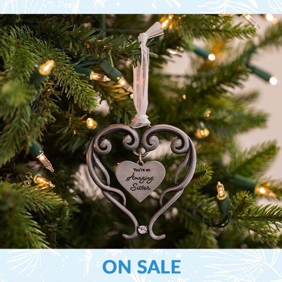 Amazing Sister Ornament - On Sale