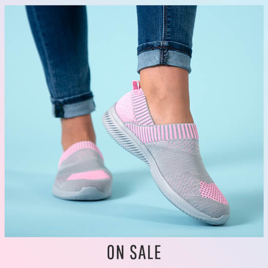 Pink Ribbon Ultralite™ Flex Shoes - On Sale