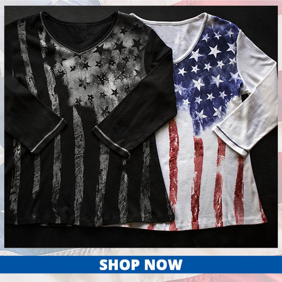 Old Glory Baby Rib Top - Shop Now