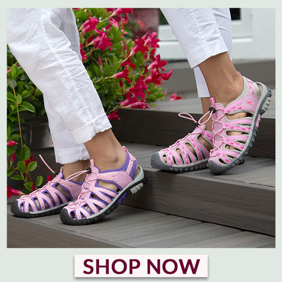 Path to Pink™ Sport Sandals - Shop Now!