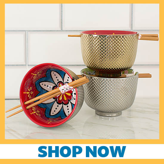 Touch of Shine Noodle Bowl Chopsticks