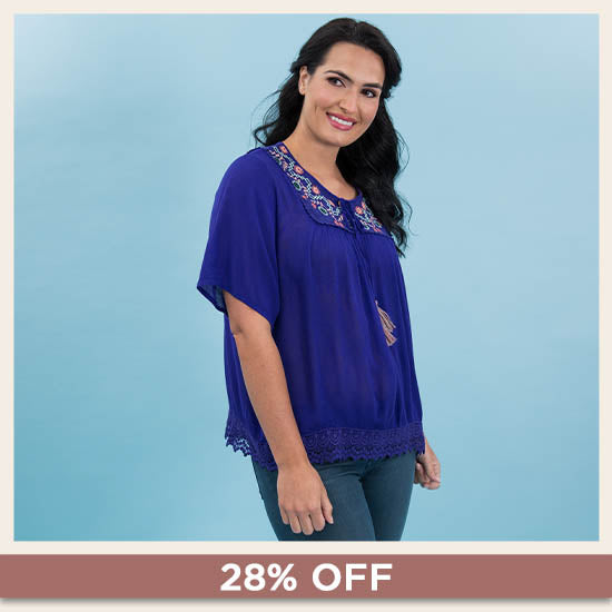 Blossoms Blooming Top - 28% OFF