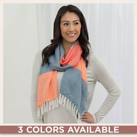 Enchanted Sky Guatemalan Scarf - 3 Colors Available