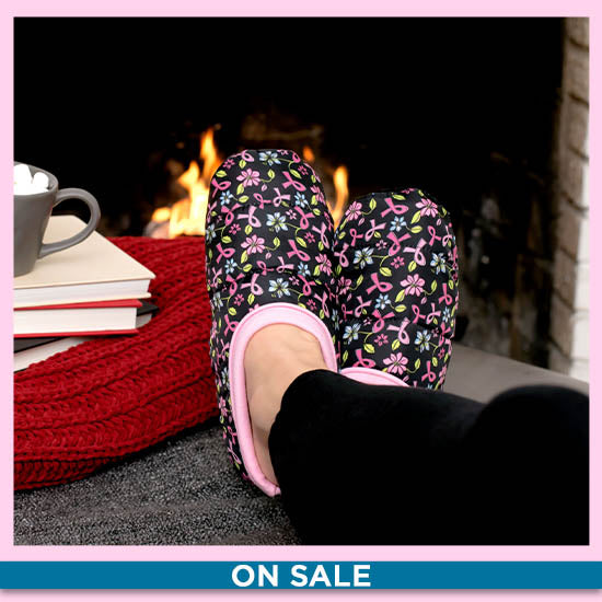 Visions of Pink Puffy Slippers - On Sale