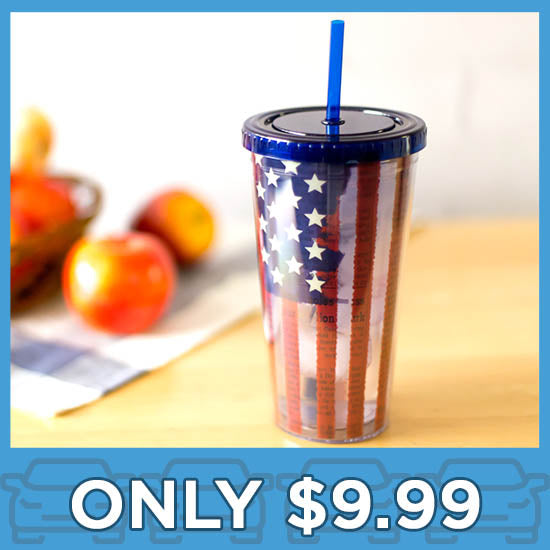 Liberty Flag Insulated Travel Cup