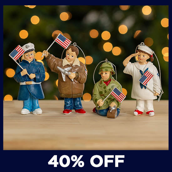 Little Heroes Military Branch Ornament - 40% OFF