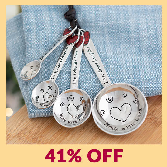 Made with Love Measuring Spoons - 41% OFF