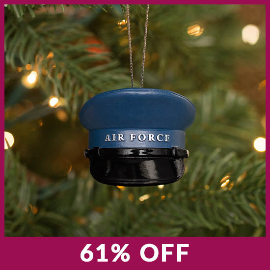 Military Hat Ornament - 61% OFF