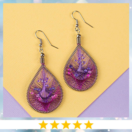 Art of Thread Earrings  - ★★★★★