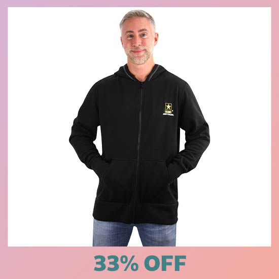 U.S. Army® Men's Hooded Zip Sweatshirt - 33% OFF
