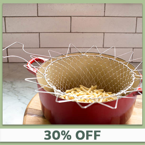 Stainless Steel Chef Basket - 30% OFF