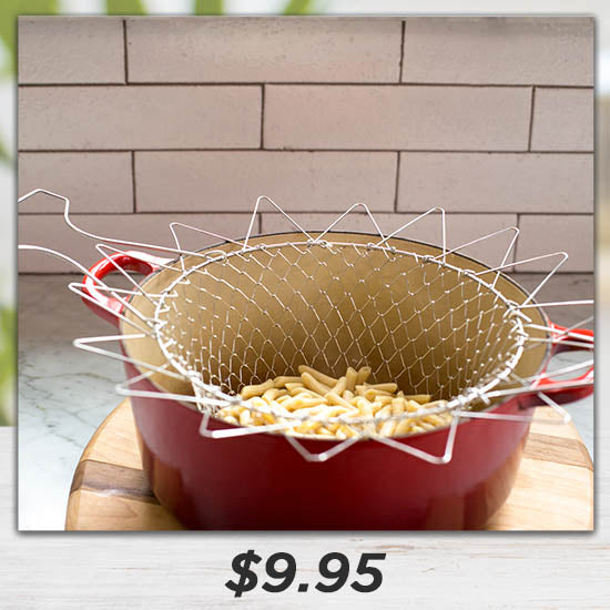 Stainless Steel Chef Basket - $9.95