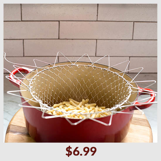 Stainless Steel Chef Basket - $6.99