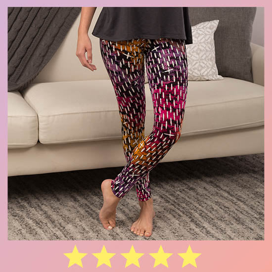 Cosmos Batik Leggings - ★★★★★