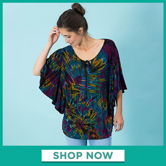 Brilliant Spirit Butterfly Sleeve Top - Shop Now