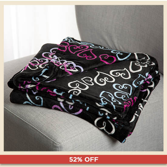 Super Cozy™ Fleece Throw Blanket - 52% OFF