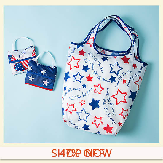 Patriotic Shopping Bags - Set of 3 - 47% OFF