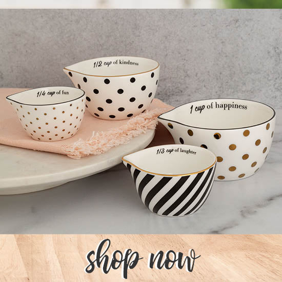 Gifts of Gold Measuring Cup Set - Shop Now