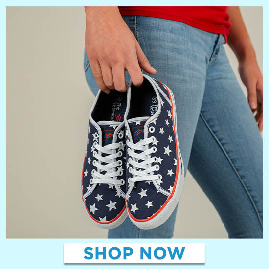 Star Spangled Sneakers - Shop Now